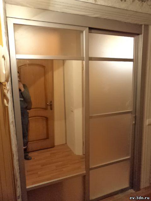 Двустворчатые двери своими руками